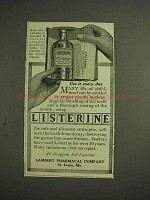 1914 Listerine Antiseptic Mouth-Wash Ad - Use Every Day