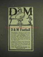 1914 Draper-Maynard D&M Football Ad
