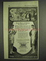1917 B.V.D. Underwear Ad - Every Day's a Holiday