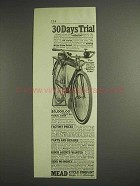 1917 Mead The Ranger Electric Lighted Motor-Bike Ad