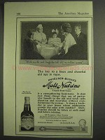 1917 Anheuser-Busch Malt-Nutrine Ad - Key to Old Age