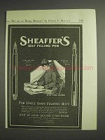 1917 Sheaffer's Army and Navy Special, Students Pen Ad