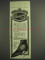 1917 Florsheim Shoe Ad - The Gothic
