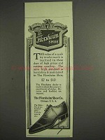 1917 Florsheim Shoe Ad - The Glide