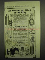 1918 Universal Vacuum Bottle Ad - At Home or Play