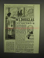 1918 W.L. Douglas Shoe Ad - Holds Its Shape