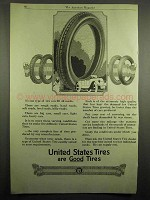 1918 United States Tires Ad - Good Tires