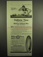 1918 Miller Tires Ad - Uniform Tires