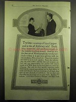 1918 Mimeograph Ad - Twins, Paper and Fighting Ink