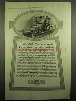 1918 Mimeograph Ad - In Action!