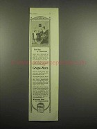 1918 Grape-Nuts Cereal Ad - The Man of Tomorrow