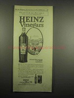 1918 Heinz Vinegar Ad - Food Will Win The War