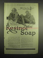 1918 Resinol Soap Ad - Your Boy Over There Will Welcome