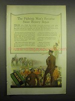 1918 Palmolive Soap Ad - The Fighting Man's Favorite