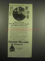 1918 Sherwin-Williams Paint Ad - Painting Saves Repairs