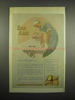 1918 Bon Ami Cleanser Ad - Cut Out This Panel