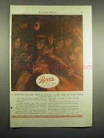 1918 Pyrene Fire Extinguisher Ad - Motor Truck Saved