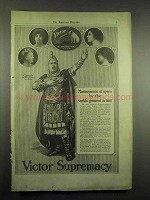 1917 Victor Records Ad - Masterpieces of Opera, Caruso