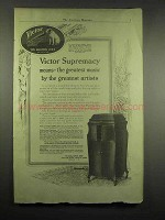 1917 Victor Victrola Phonograph Ad - Greatest Artists