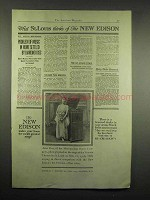 1917 New Edison Phonograph Ad - Anna Case