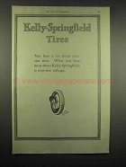 1917 Kelly-Springfield Tires Ad