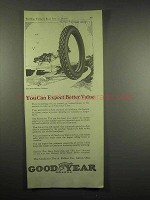 1917 Goodyear Tires Ad - Expect Better Value