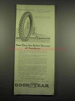 1917 Goodyear Tires Ad - Better Because