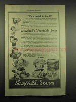 1917 Campbell's Tomato Soup Ad - It's a Meal In Itself