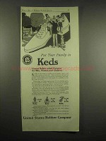 1917 Keds Shoes Ad - Put Your Family In