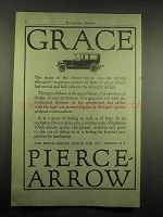 1917 Pierce-Arrow Car Ad - Grace