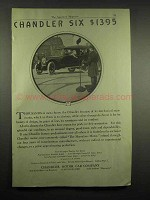 1917 Chandler Six Car Ad - $1395