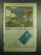 1917 Aladdin Homes Ad - $687 for 6-Room Bungalow