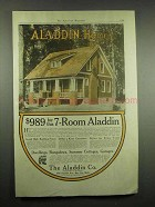 1917 Aladdin Homes Ad - $989 for this 7-Room