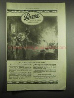 1917 Pyrene Fire Extinguisher Ad - Lasted Just Minutes