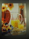 2005 Waterford Crystal Ad - See Sunday Brunch