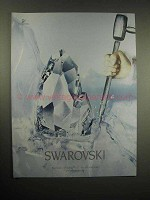 2005 Swarovski Crystal Advertisement