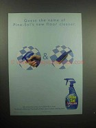 2001 Pine-Sol Spray & Mop Floor Cleaner Ad - Guess Name