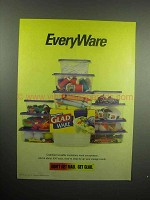 2000 Glad Ware Reusable Container Ad - EveryWare