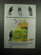 2000 Pine-Sol Cleaner Ad - Dirt, Germs, Nasty Odors
