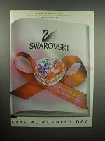 2000 Swarovski Crystal Ad - Mother's Day