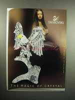 2000 Swarovski Crystal Eagle Ad - The Magic of Crystal