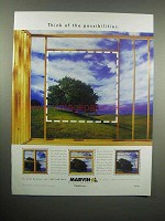 2000 Marvin Windows Ad - Think of the Possibilities