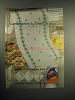 1999 Bounty Paper Towels Ad - Kitchens Rejoice