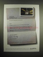 1999 Casablanca Cathay Ceiling Fan Ad