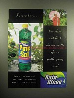 1998 Rain Clean Pine-Sol Cleaner Ad - Remember