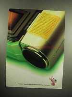 1998 Energizer Battery Ad - Important For Best Results