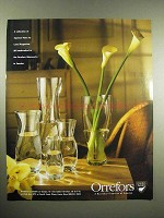 1998 Orrefors Squeeze Vases Ad