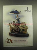 1998 Lladro Porcelain Ad - A Tradition of Beauty