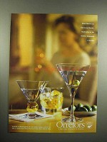 1997 Orrefors Nobel, Intermezzo Martini Glass Ad