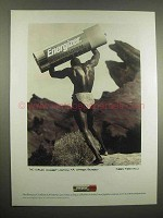 1993 Energizer Hi Energy Lithium Camera Battery Ad